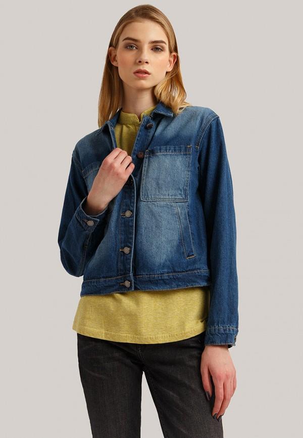 Куртка джинсовая Finn Flare Finn Flare MP002XW1IOBD куртка для мальчика finn flare цвет темно синий ka18 81007 101 размер 164