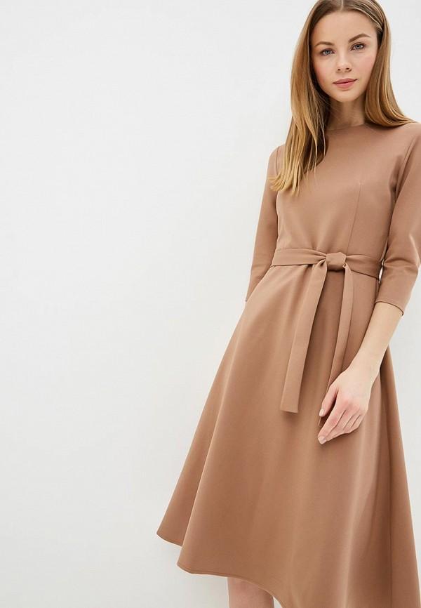 женское повседневные платье lorani, бежевое