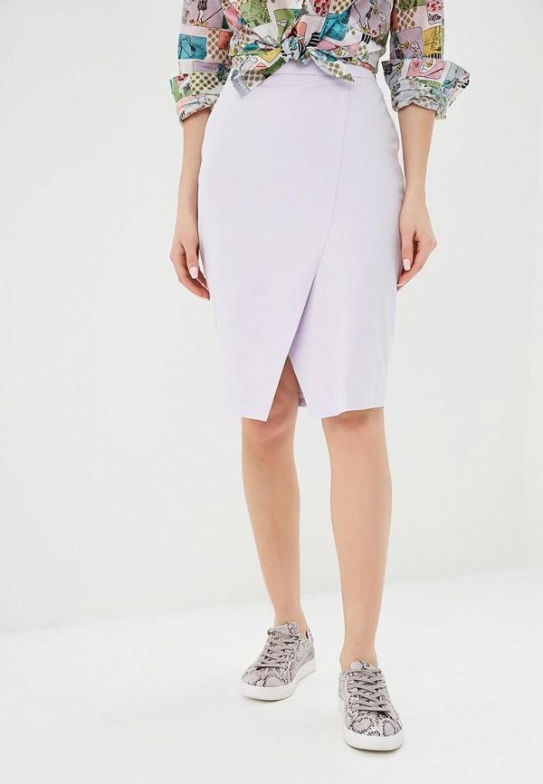 женская зауженные юбка madeleine, фиолетовая