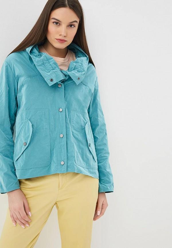 женская куртка madeleine, зеленая