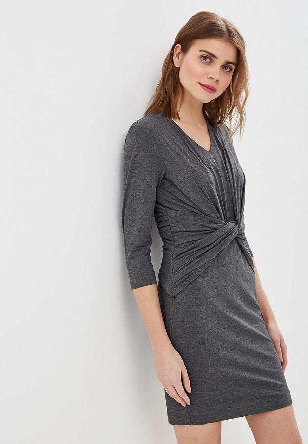 женское платье-футляр madeleine, серое