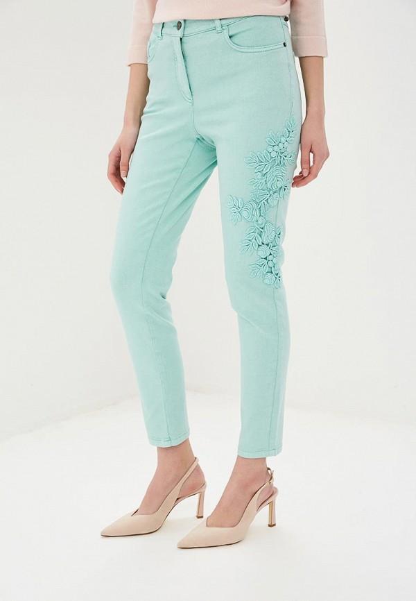 женские повседневные брюки madeleine, зеленые