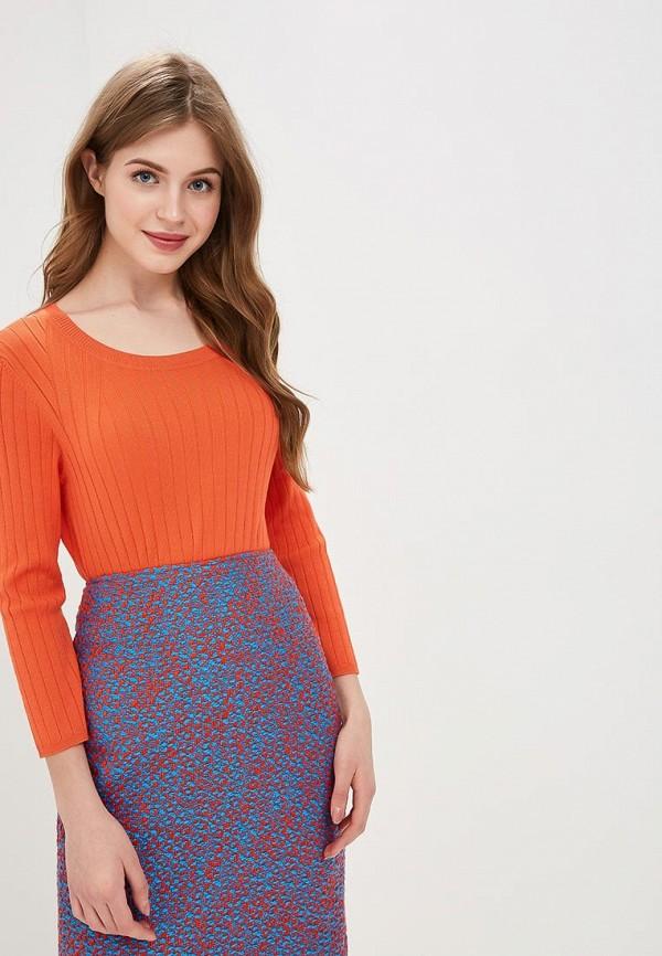 женский джемпер madeleine, оранжевый