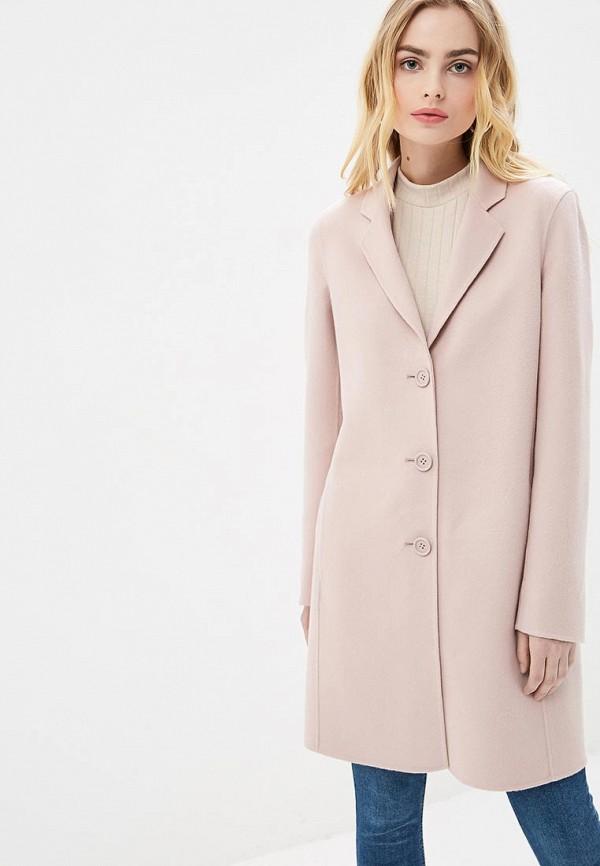 женское пальто madeleine, розовое