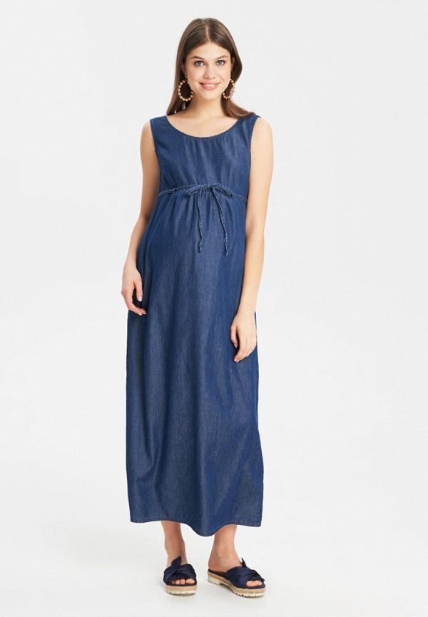 женское платье для беременных budumamoy, синее