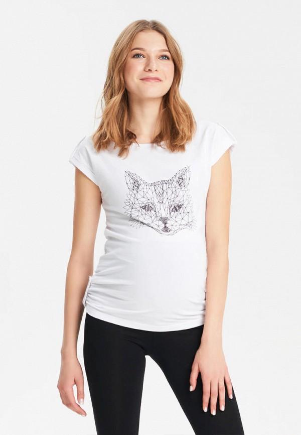 женская футболка budumamoy, белая