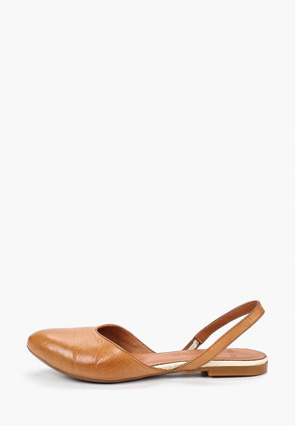 женские босоножки airbox, коричневые