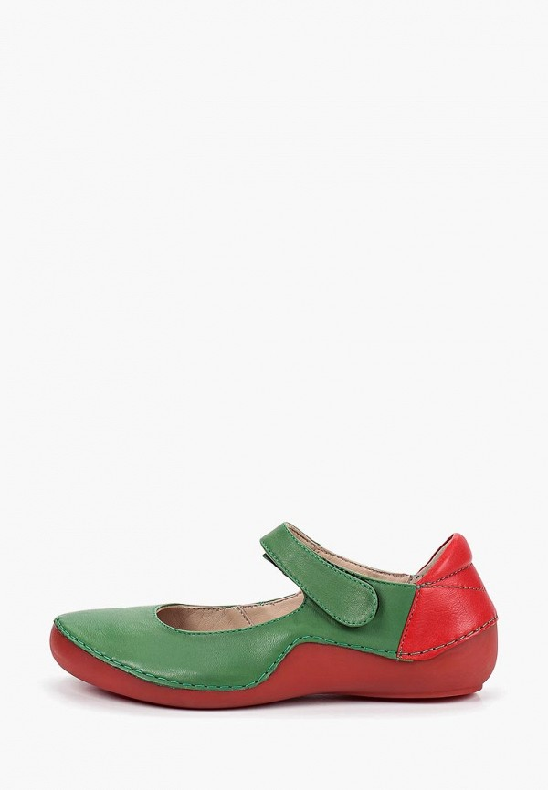 женские туфли airbox, зеленые