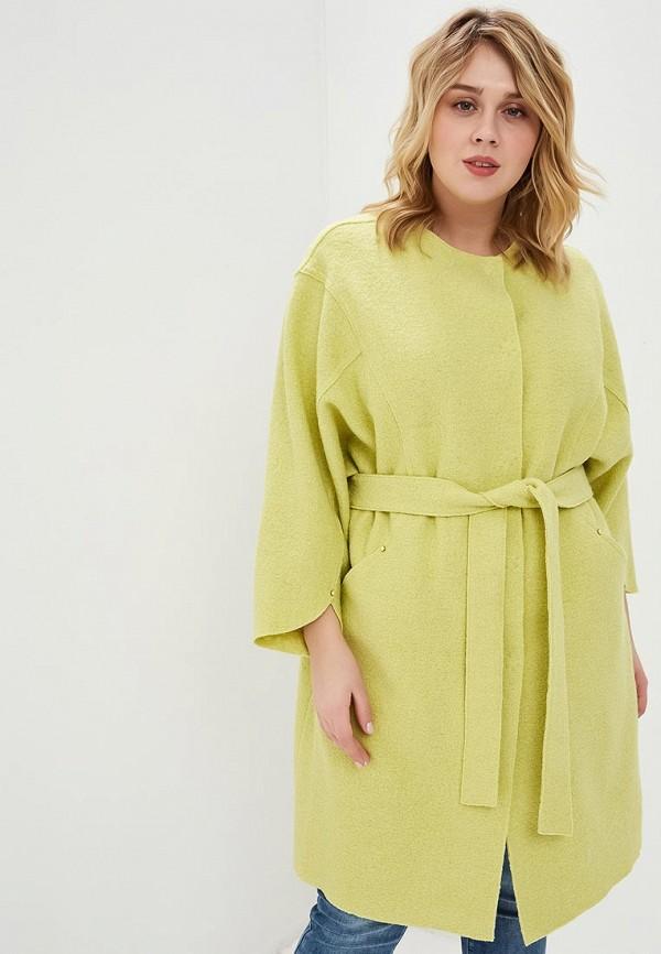 женское пальто marsena, зеленое