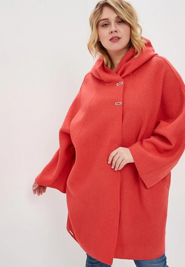 женское пальто marsena, розовое