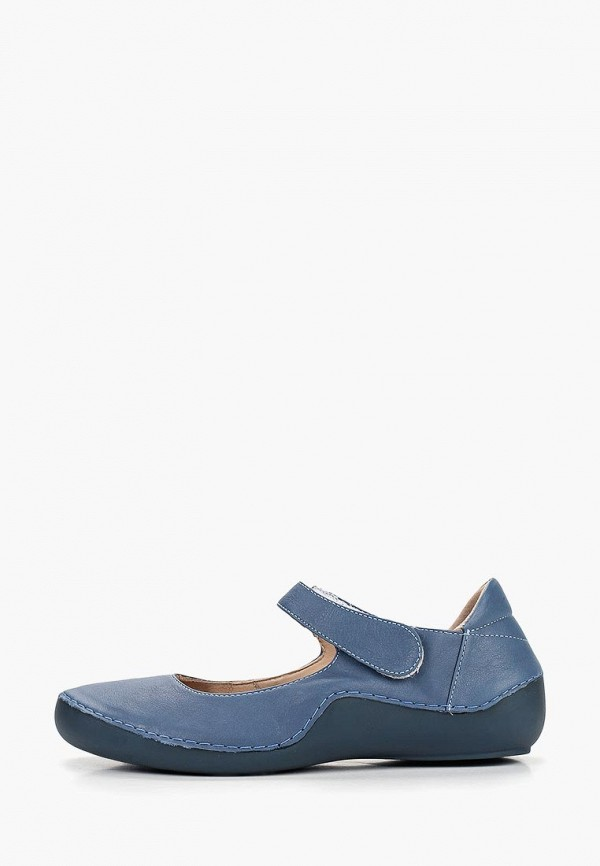 женские туфли airbox, голубые