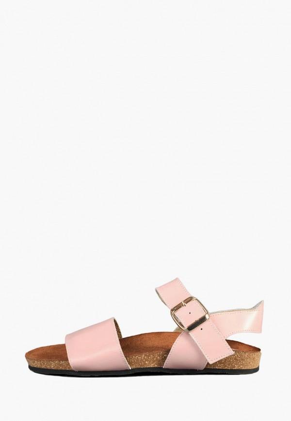 женские сандалии litvin, розовые