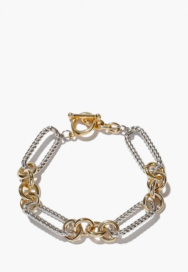 Браслет Exclaim Exclaim MP002XW1IQ4H браслеты exclaim браслет на тонкой серебряной цепочке с золотым напылением