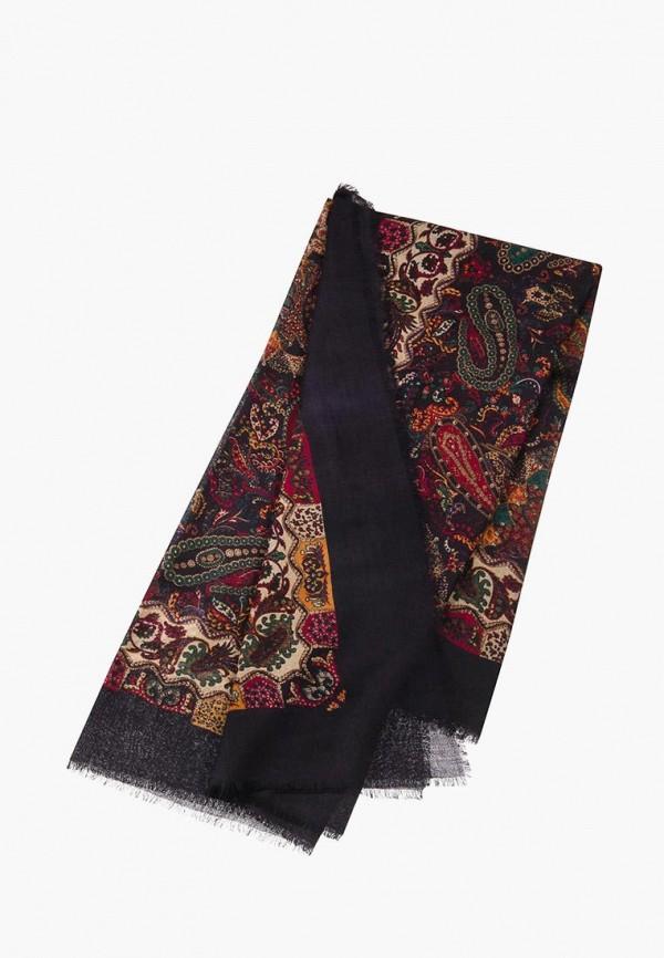 Платок Dr.Koffer Dr.Koffer MP002XW1IQBO платок черный с ландышами