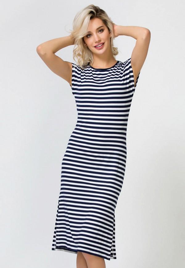 женское платье remix, синее