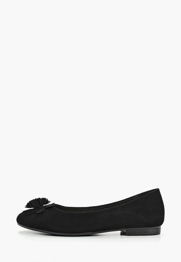 женские балетки pierre cardin, черные