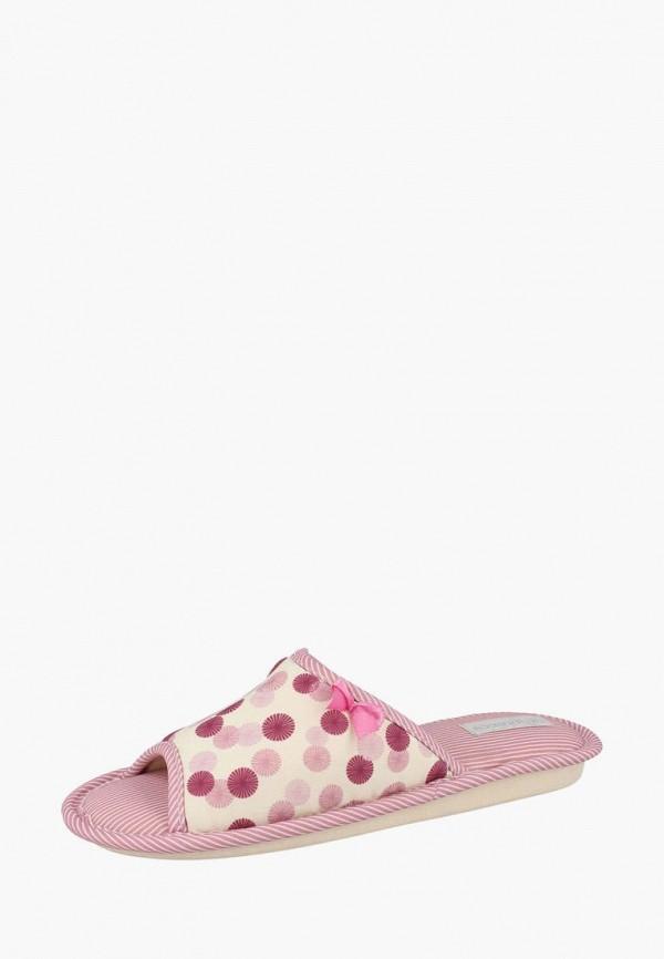 женские тапочки de fonseca, розовые