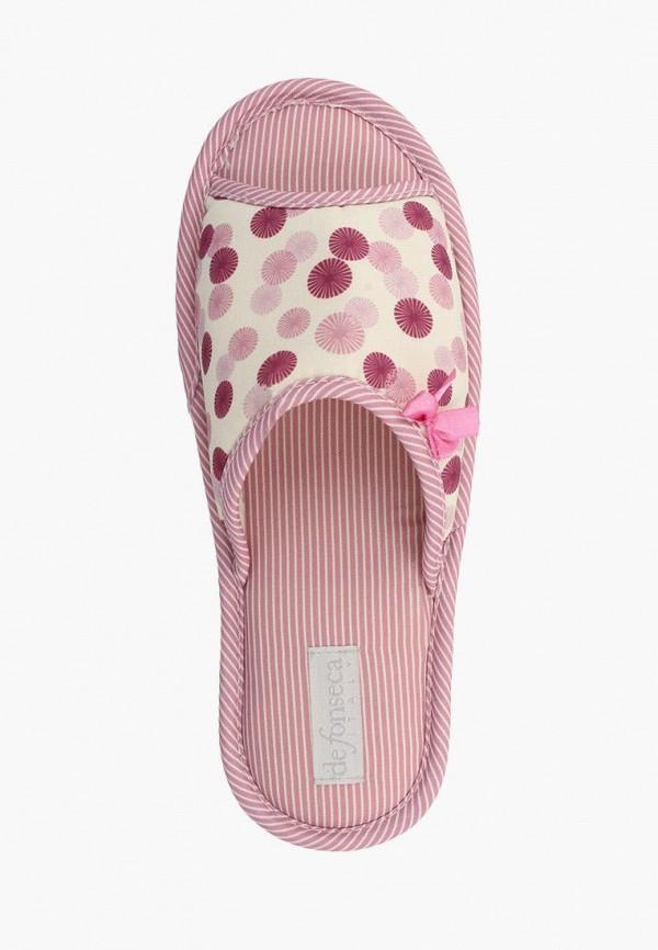 Тапочки De Fonseca цвет розовый  Фото 2