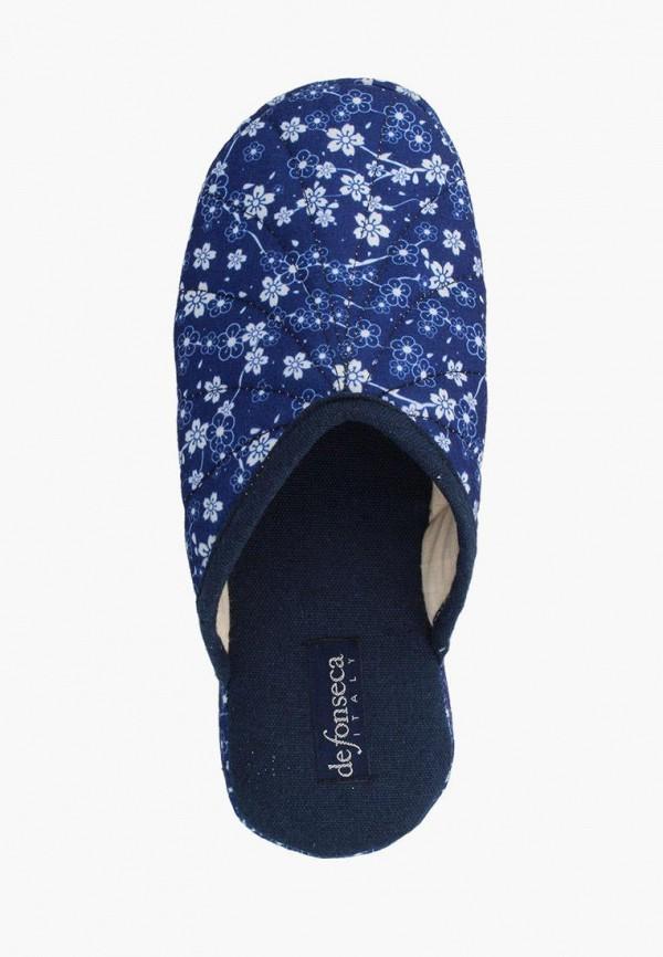 Тапочки De Fonseca цвет синий  Фото 2
