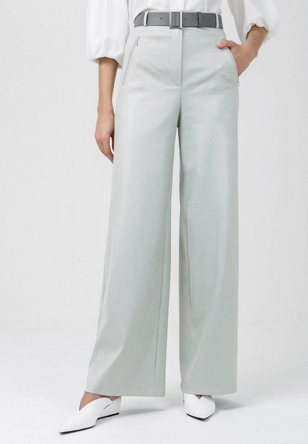 женские брюки audrey right, бирюзовые