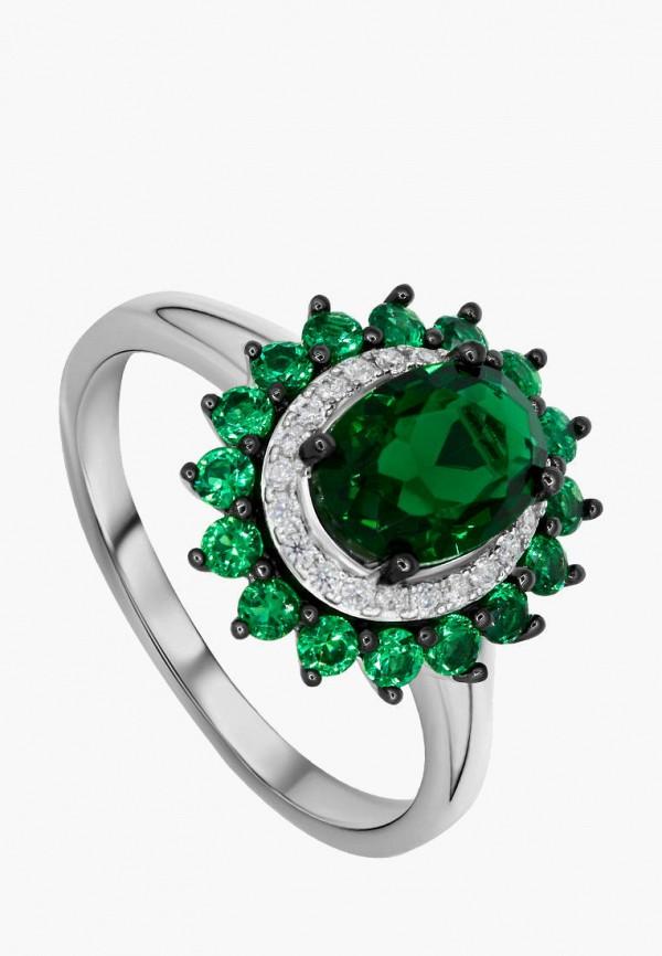 Кольцо Valtera Valtera MPJWLXW000HM coolsir серебряный зеленый