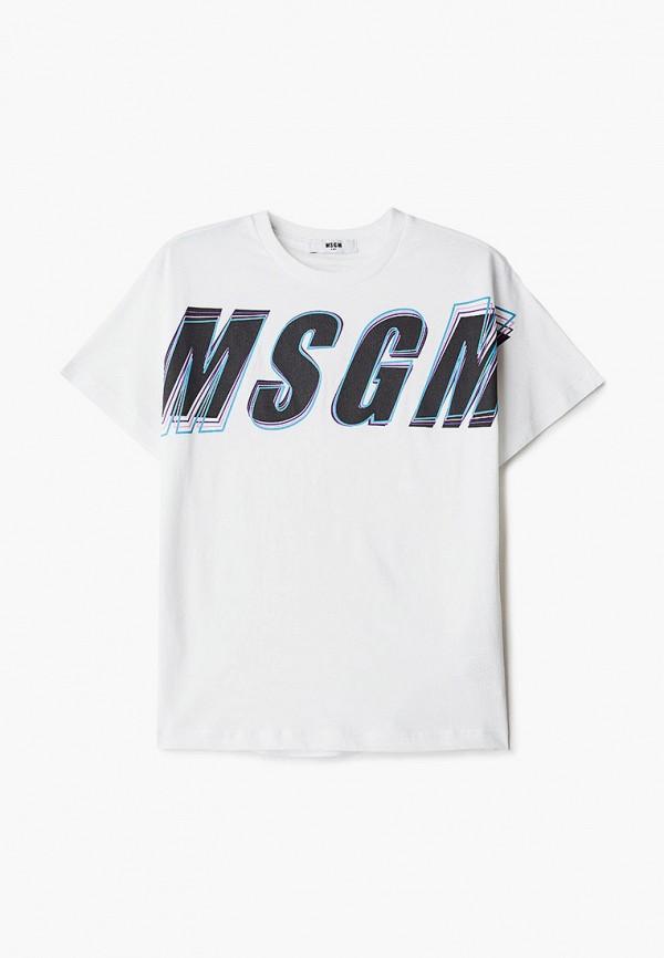 Футболка для мальчика MSGM Kids MS027629