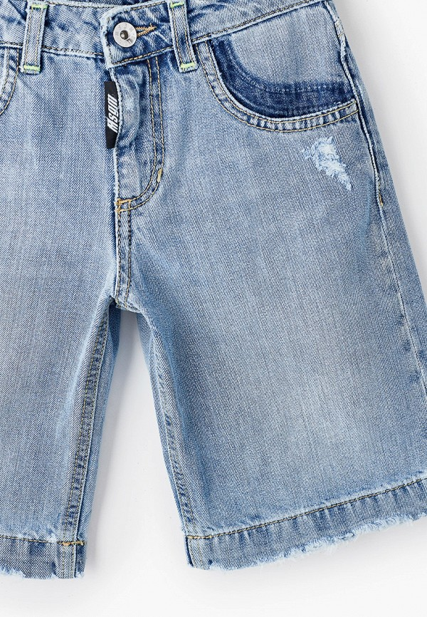 Шорты для мальчика джинсовые MSGM Kids MS027601 Фото 3