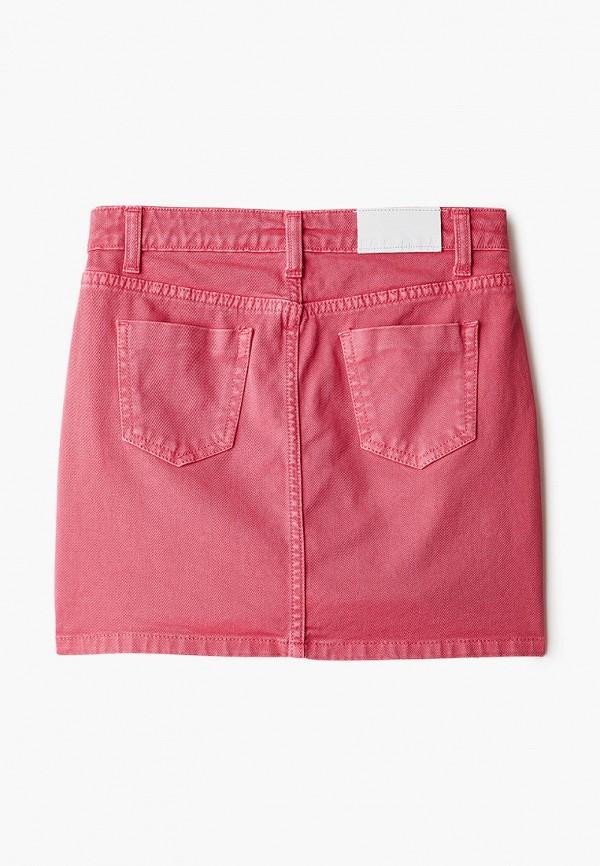 Юбка для девочки джинсовая MSGM Kids MS026859 Фото 2