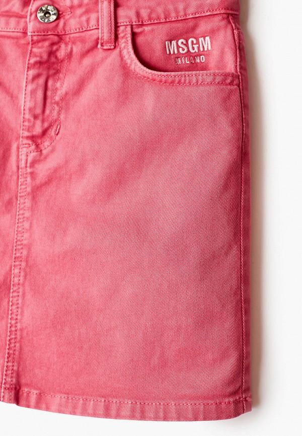 Юбка для девочки джинсовая MSGM Kids MS026859 Фото 3