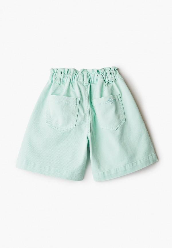 Шорты для девочки джинсовые MSGM Kids MS027066 Фото 2