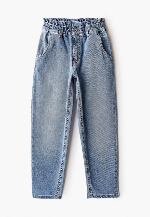джинсы msgm kids для девочки, голубые