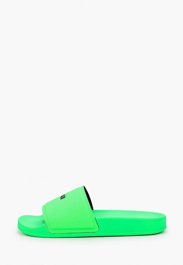 мужские сланцы msgm, зеленые
