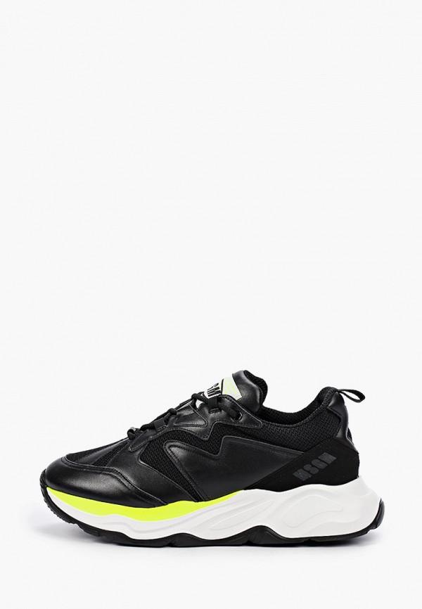 мужские кроссовки msgm, черные