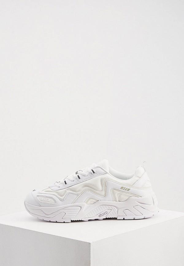 мужские кроссовки msgm, белые