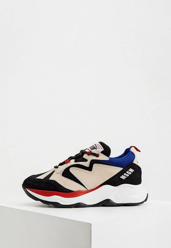 мужские кроссовки msgm, разноцветные