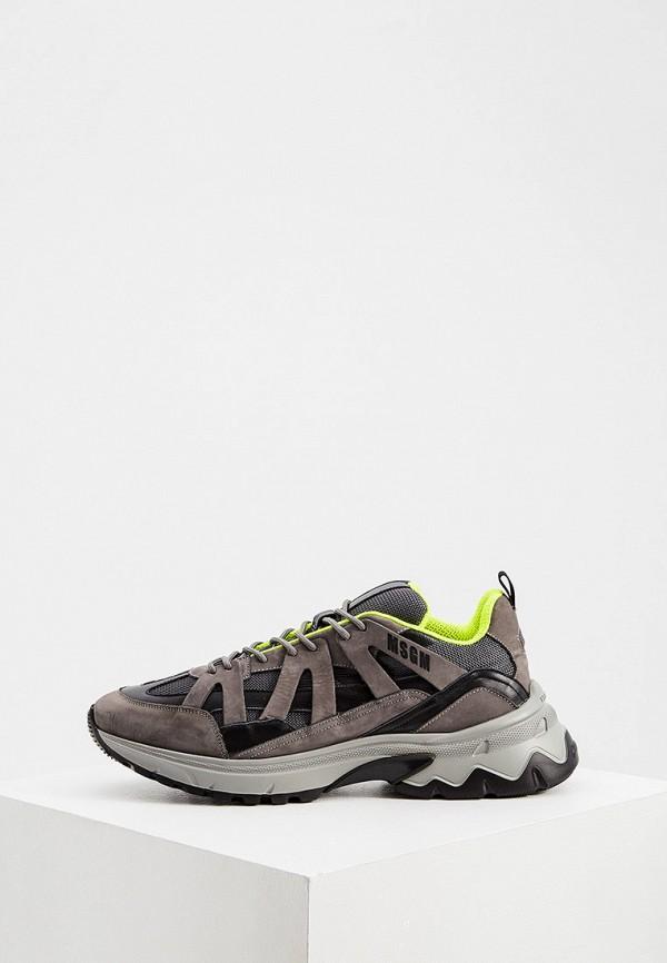 мужские кроссовки msgm, серые