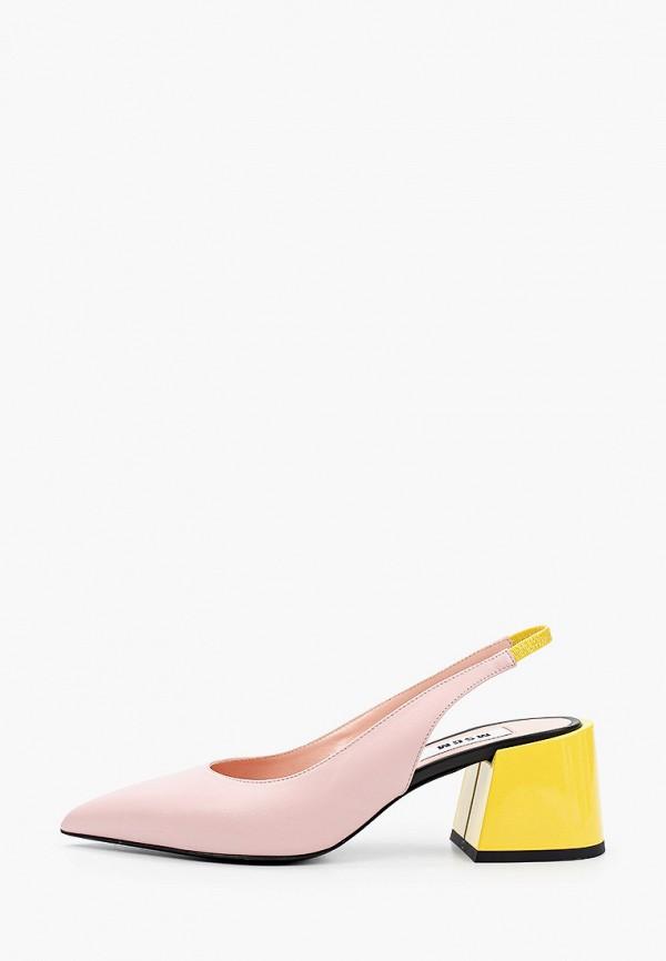 женские туфли msgm, розовые
