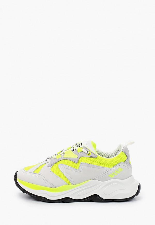 женские кроссовки msgm, белые