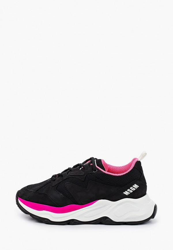 женские кроссовки msgm, черные