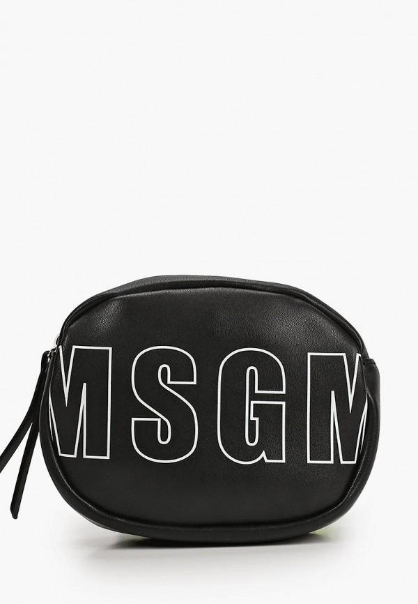 сумка msgm для девочки, черная