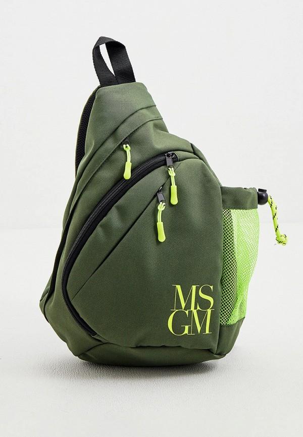 мужской рюкзак msgm, хаки