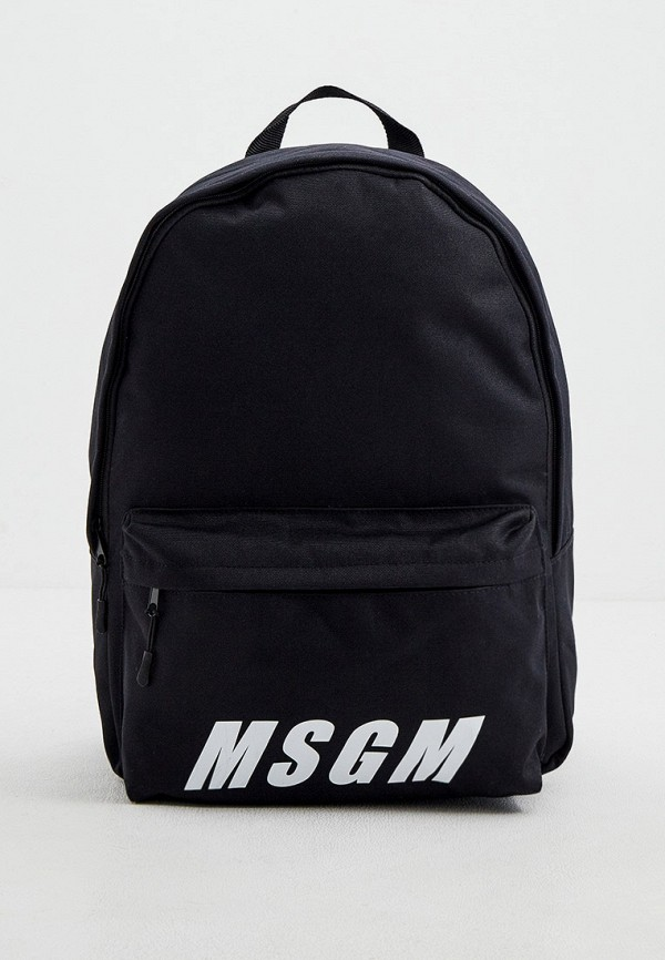 мужской рюкзак msgm, черный