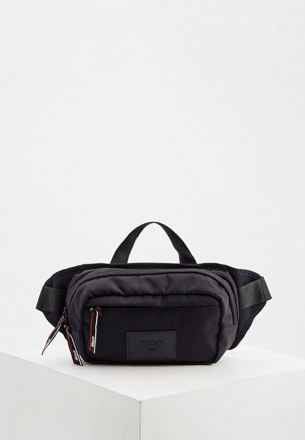 мужская сумка msgm, черная