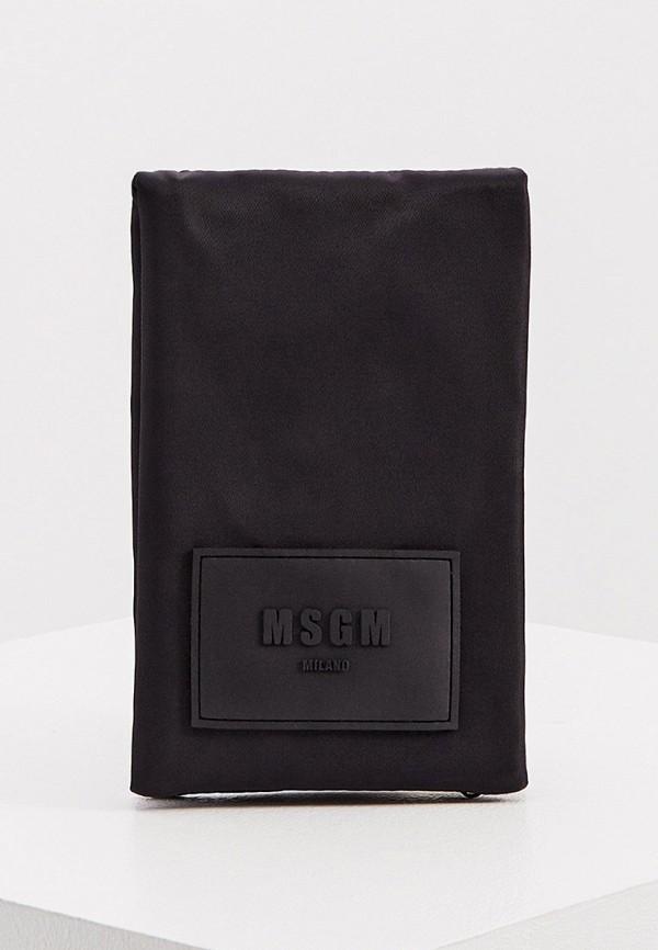 женский кошелёк msgm, черный