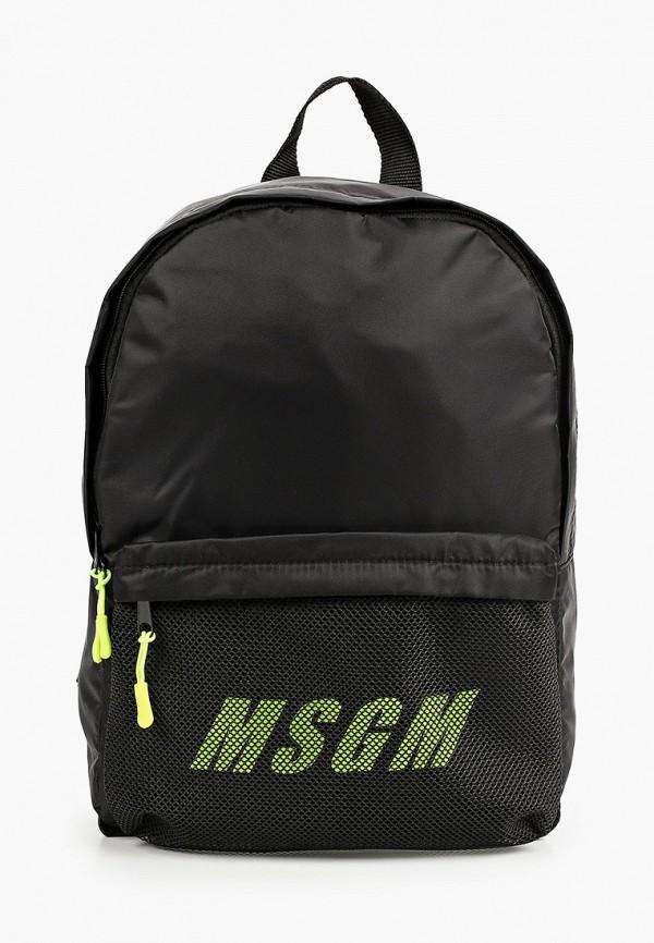 женский рюкзак msgm, черный