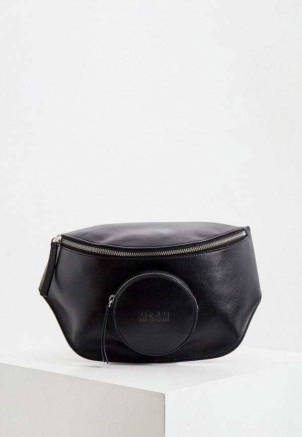 женская сумка msgm, черная