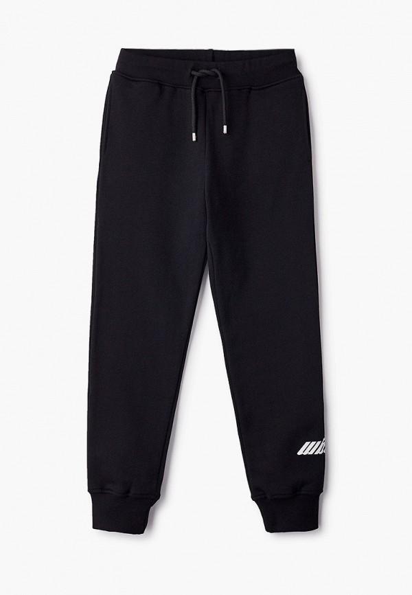 спортивные брюки msgm для мальчика, черные