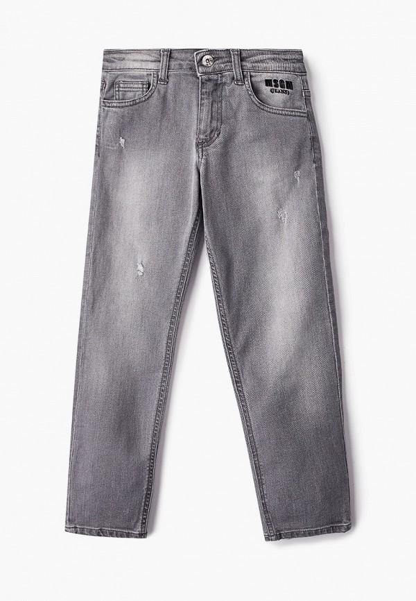 джинсы msgm kids для мальчика, серые