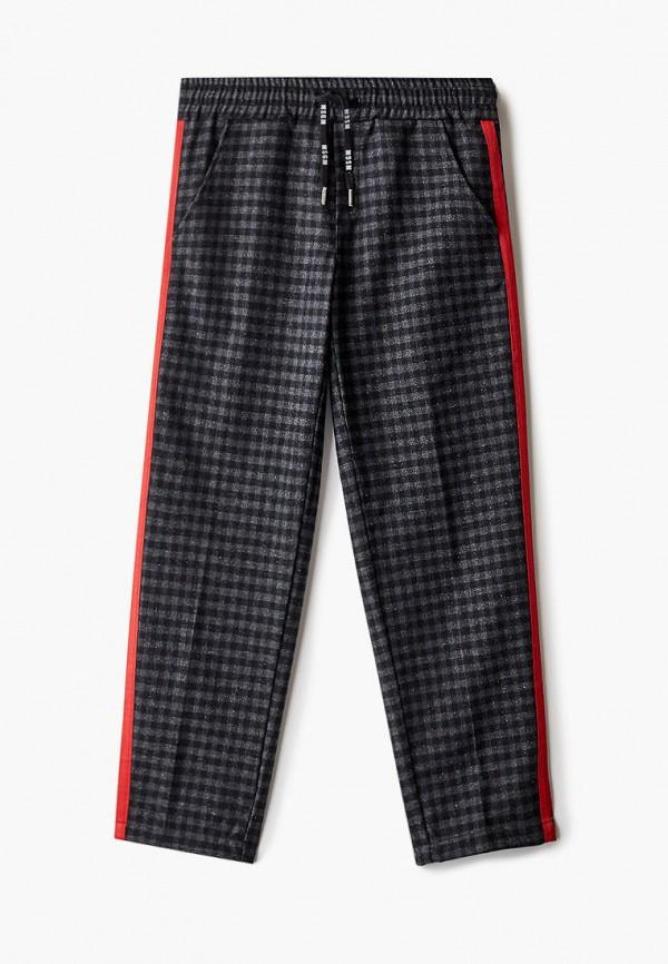 спортивные брюки msgm для мальчика, серые