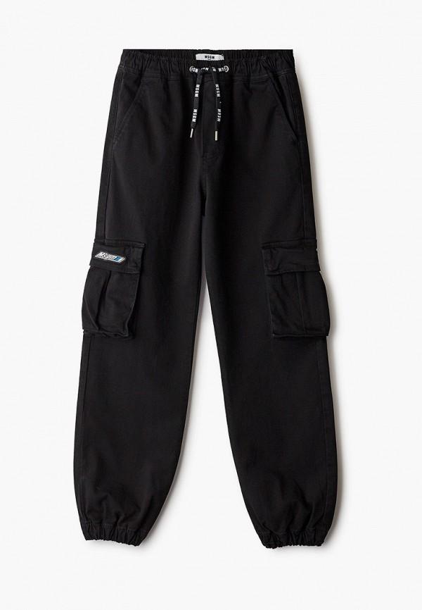 брюки msgm для мальчика, черные